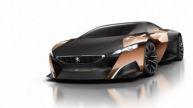 标致Onyx概念车混合动力超跑