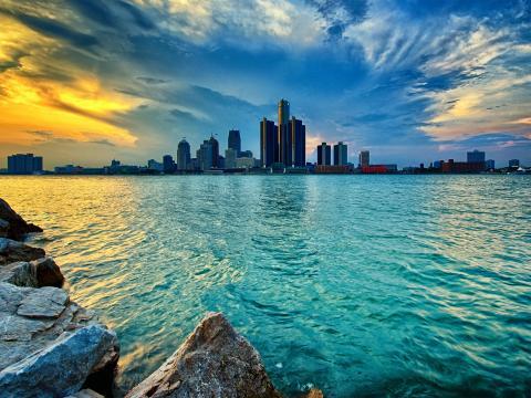 美国密歇根州最大的城市底特律