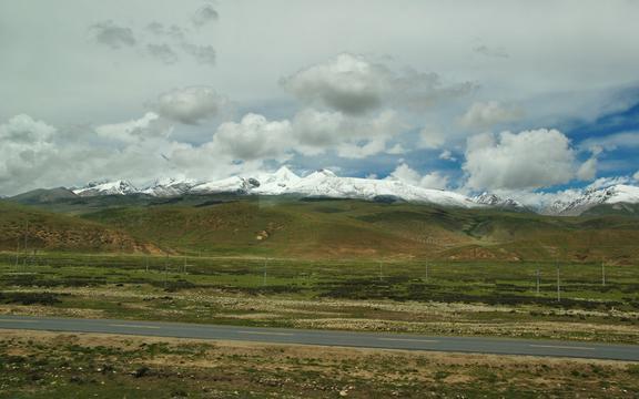 骑行在滇藏线之清澈的蓝天