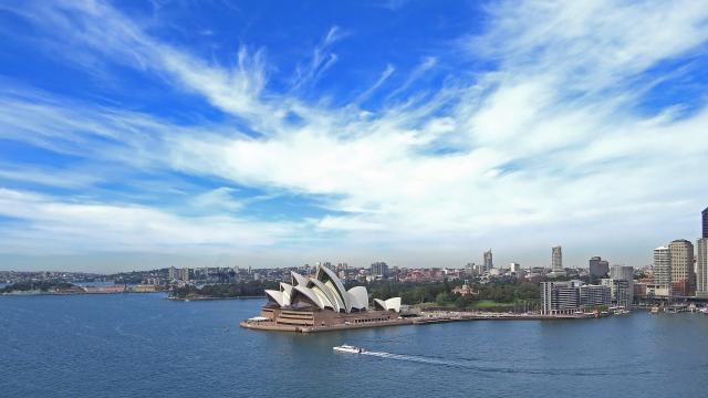 悉尼的城市风光