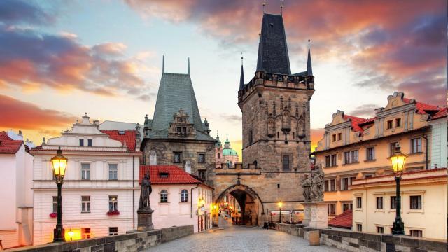 迷失在欧洲最美的城市-布拉格