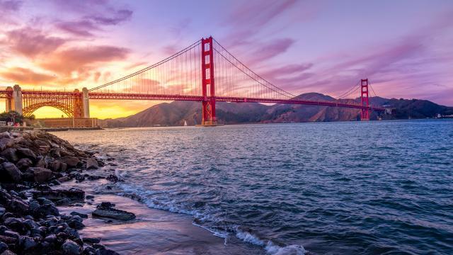 世界著名桥梁之金门大桥