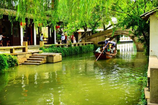 周庄古镇是苏州国家级景区