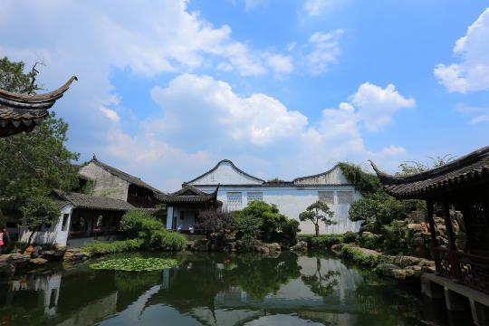 苏州园林中型古典山水宅园代表作品——网师园