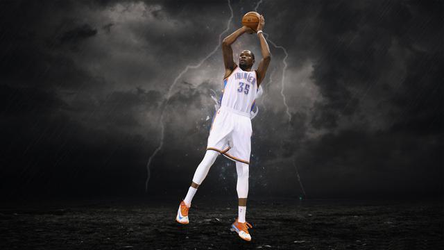 NBA巨星凯文·杜兰特