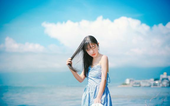 日系海边少女