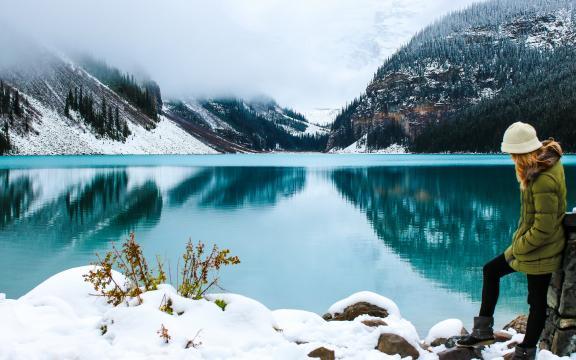 加拿大的冬天格外美
