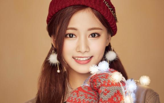 twice韩国女子歌手圣诞节写真
