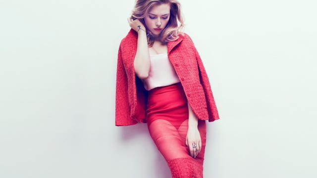 斯嘉丽·约翰逊时尚写真