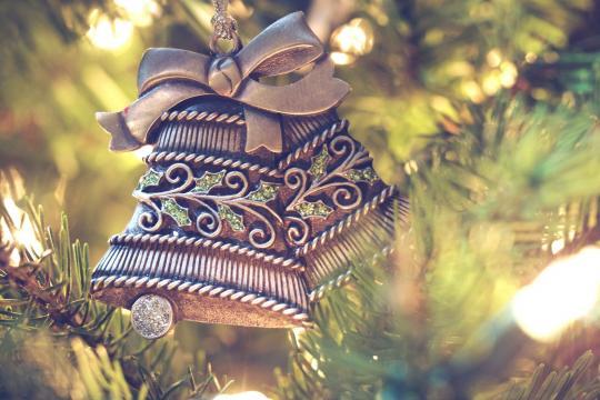漂亮的圣诞装饰物