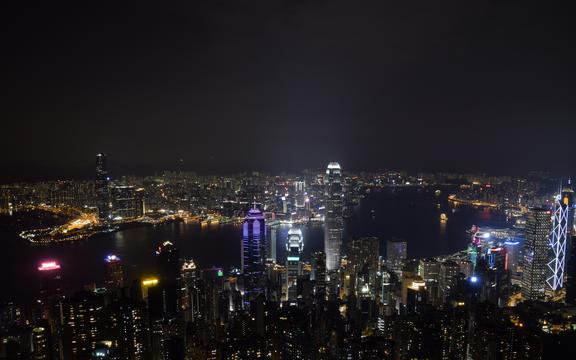 迷人的香港