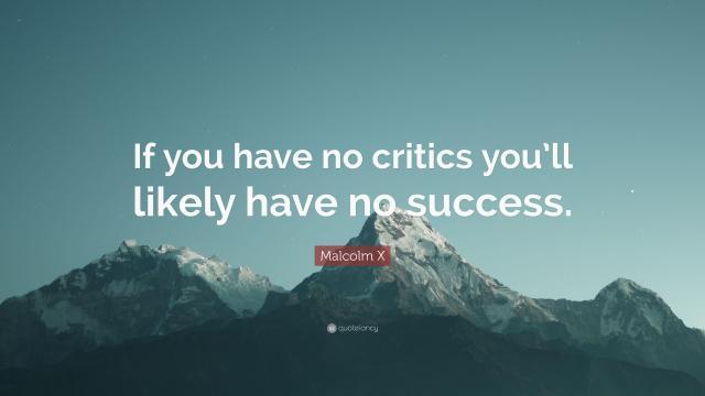 民权运动领袖马尔科姆·艾克斯关于成功的名言