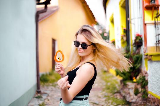 欧美美女清凉夏日写真