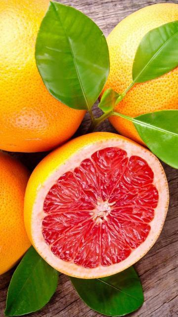 鲜红肉的血橙