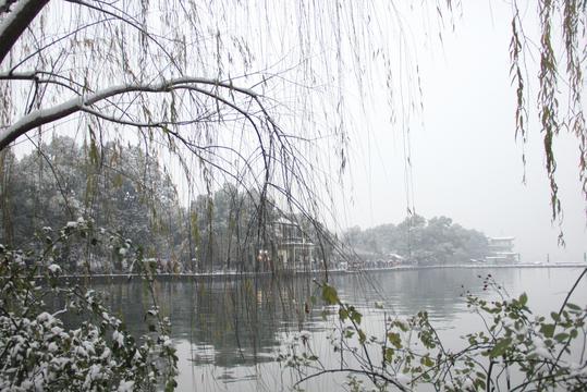 西湖断桥残雪