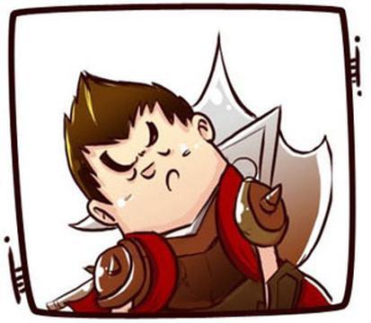 英雄联盟歪脖子卡通头像