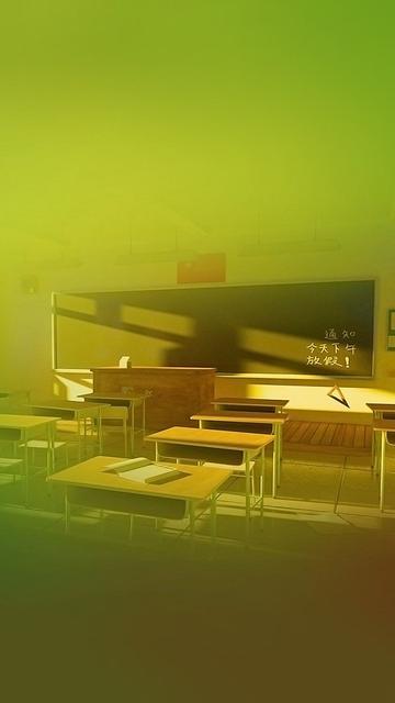 温馨的教室