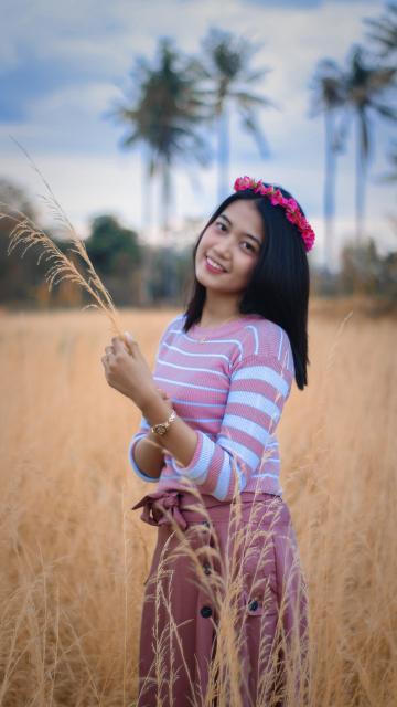 清纯漂亮的越南美女生活写真