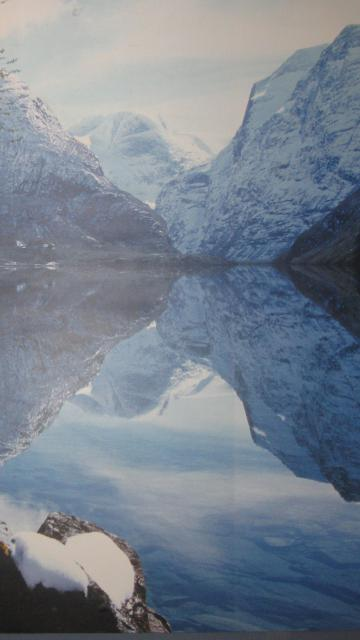挪威的美丽湖泊