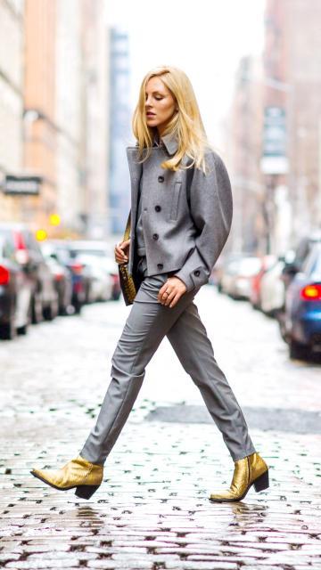 时尚博主Shea Marie的潮流街拍