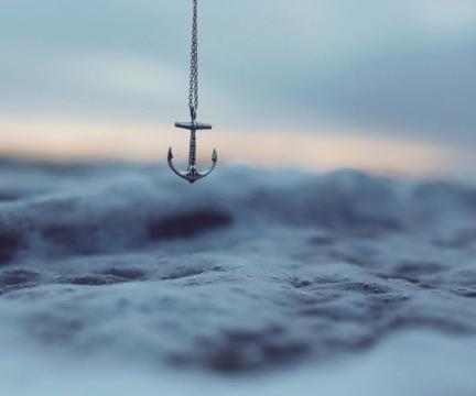 船锚型的项链