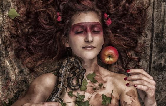 欧美御姐另类人体艺术写真