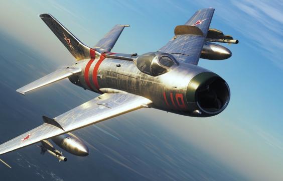 米格-19P战斗机