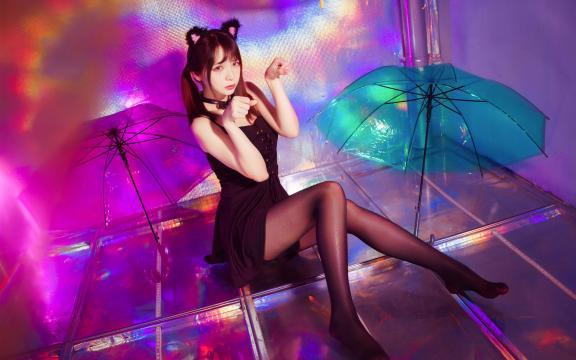 可爱猫耳娘迷幻性感写真