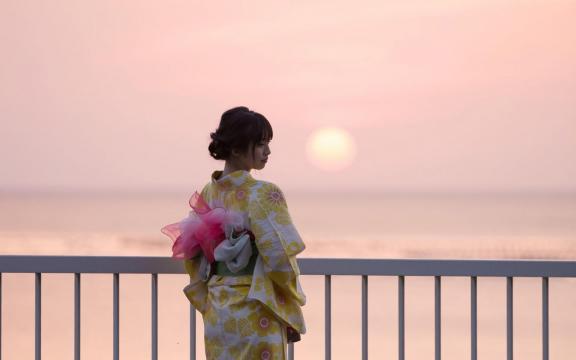 惊艳时光的日系和服美少女写真