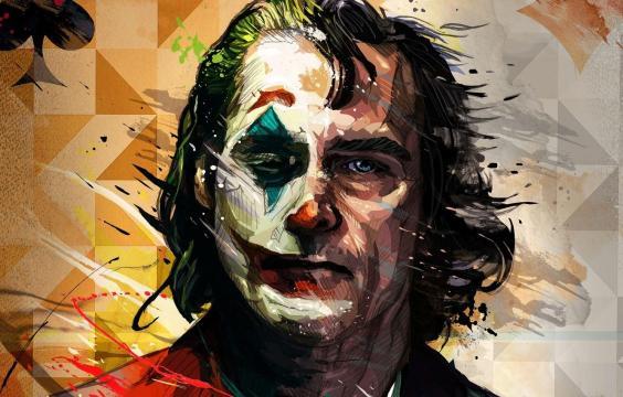 DC反派小丑动漫头像