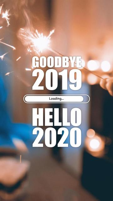 Goodbye 2019,Hello 2020