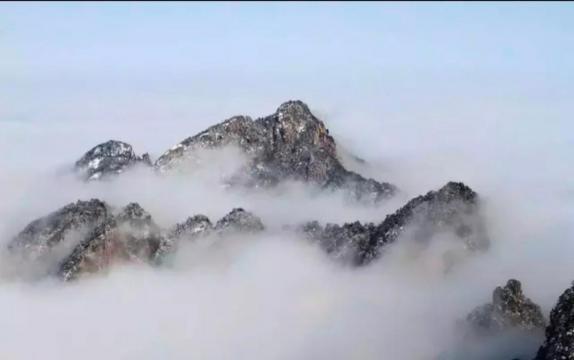 黄山风景区雪后初霁